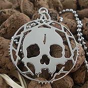 Украшения handmade. Livemaster - original item Pendant skull. Handmade.
