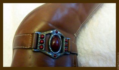 Винтажная обувь. Ярмарка Мастеров - ручная работа. Купить Винтаж кожа сабо Марко Тоззи оригинал. Handmade. Коричневый, винтаж