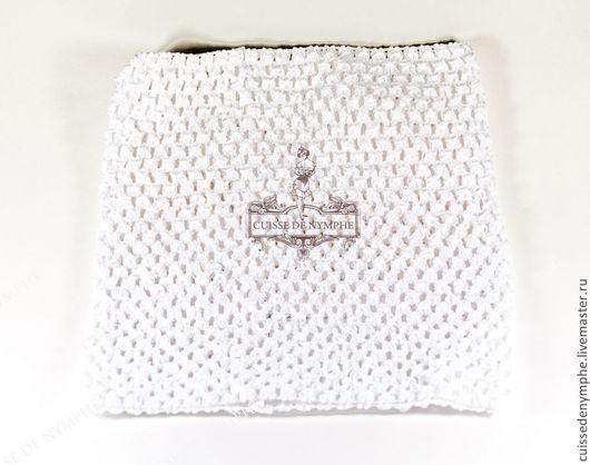 Шитье ручной работы. Ярмарка Мастеров - ручная работа. Купить Топ большой, белый, 2001. Handmade. Топ, топ акриловый