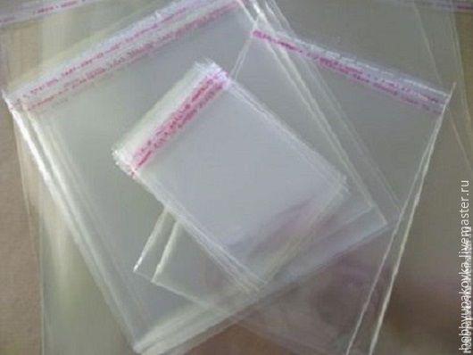 Упаковка ручной работы. Ярмарка Мастеров - ручная работа. Купить Пакет 18х23 см (30шт)  с клеевой полосой. Handmade.