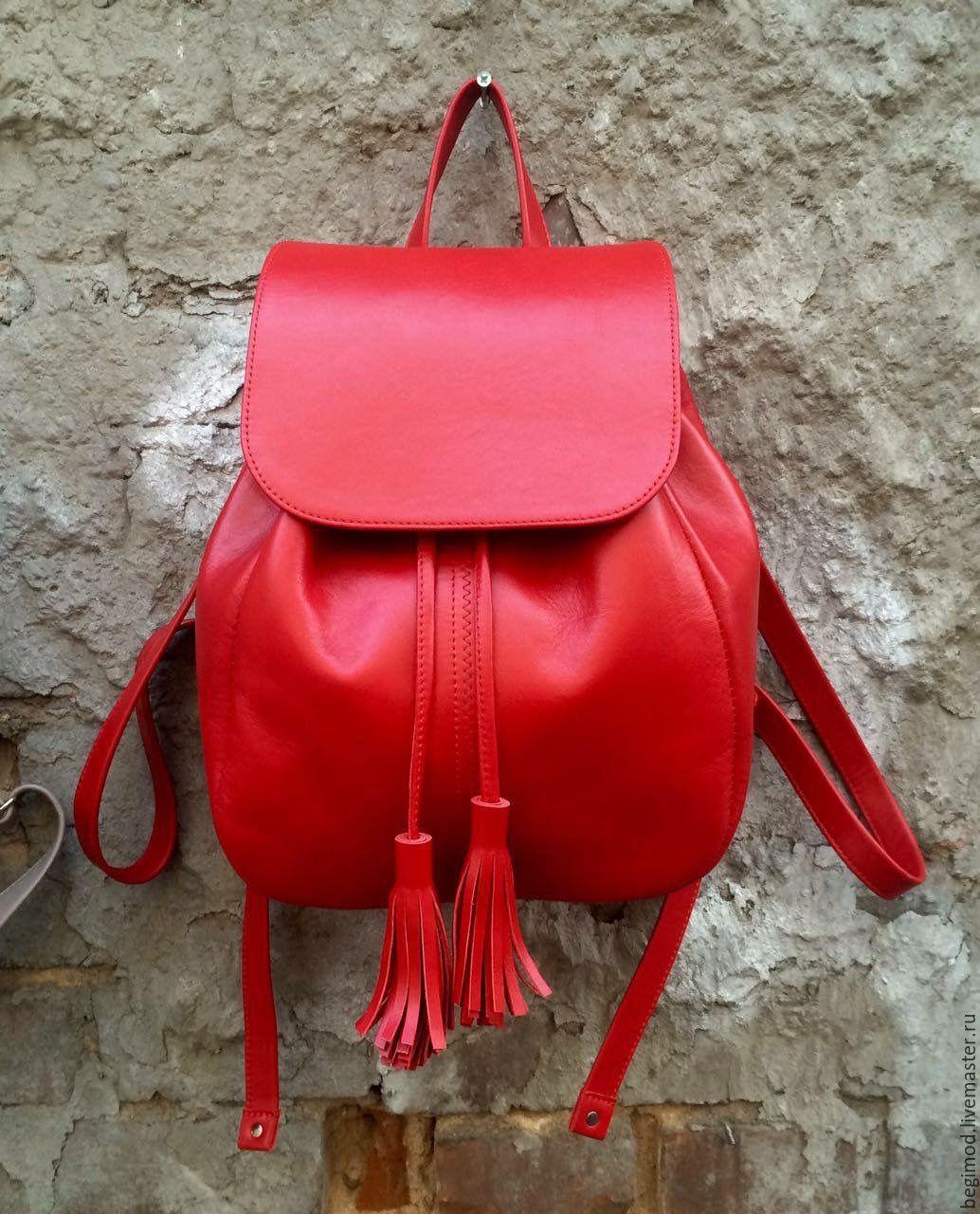 7509ab635d96 Красный Рюкзак Фото
