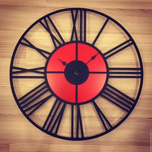 """Часы для дома ручной работы. Ярмарка Мастеров - ручная работа. Купить Часы 45см """"Rooma-lisada"""". Handmade. Часы настенные"""