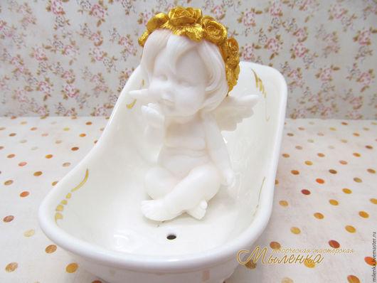 Мыло ручной работы. Ярмарка Мастеров - ручная работа. Купить Мыло сувенирное Милый ангел. Handmade. Ангел, мыло-ангелочек