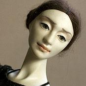 """Шарнирная кукла ручной работы. Ярмарка Мастеров - ручная работа Авторская шарнирная кукла бжд """"В балетном классе 2"""". Handmade."""