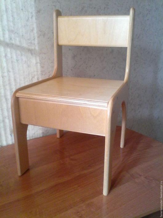 Детская ручной работы. Ярмарка Мастеров - ручная работа. Купить стул детский. Handmade. Комбинированный, для детей, фанера берёзовая