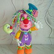 Куклы и игрушки ручной работы. Ярмарка Мастеров - ручная работа Клоунесса. Handmade.