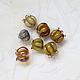 """Для украшений ручной работы. Заказать Бусины лэмпворк """"Ландыши"""". FancyBird - beads. Ярмарка Мастеров. Ландыш, бусины для украшений, для украшений"""