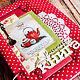 Кулинарные книги ручной работы. Ярмарка Мастеров - ручная работа. Купить Яркая кулинарная книга (кулинарный блокнот). Handmade.