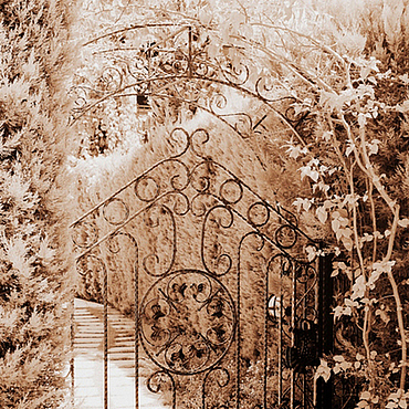 Картины и панно ручной работы. Ярмарка Мастеров - ручная работа Зеленая Дверь (по О.Генри). Handmade.