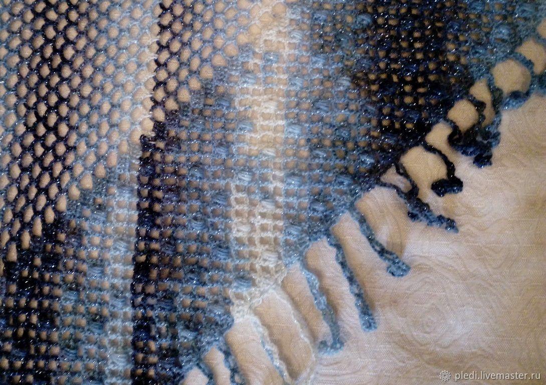 Striped shawl with lurex, Shawls, Moscow,  Фото №1