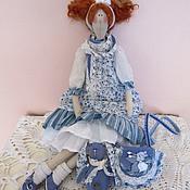 Куклы и игрушки ручной работы. Ярмарка Мастеров - ручная работа Кукла Тильда Джинсовая история. Handmade.