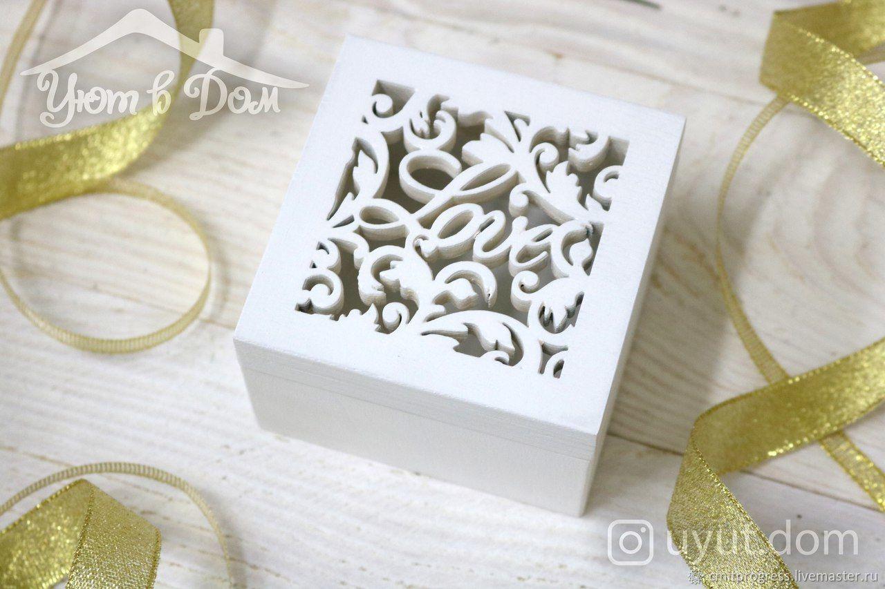 Ring box (Royal luxury design), Caskets for rings, Dimitrovgrad,  Фото №1