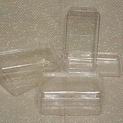 Коробки ручной работы. Ярмарка Мастеров - ручная работа Коробки: Коробка пластиковая малая. Вторая жизнь. Handmade.