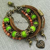 Украшения handmade. Livemaster - original item Stylish bracelet