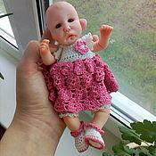 Куклы Reborn ручной работы. Ярмарка Мастеров - ручная работа Мини реборн 17 см. Handmade.