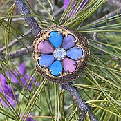 Винтаж handmade. Livemaster - original item Divinely beautiful. Vintage brooch.. Handmade.