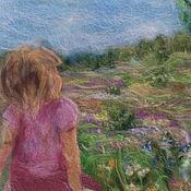 Картины и панно ручной работы. Ярмарка Мастеров - ручная работа Июльский ковер. Handmade.