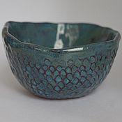 """Посуда ручной работы. Ярмарка Мастеров - ручная работа Пиала """"Синее море"""". Handmade."""