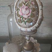 Сувениры и подарки ручной работы. Ярмарка Мастеров - ручная работа яйцо Викторианская роза. Handmade.