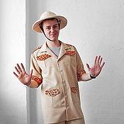 Одежда handmade. Livemaster - original item Paleontologist. Animator-actor suit/Cosplay/Masquerade costume. Handmade.