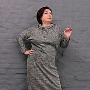 Одежда handmade. Livemaster - original item Dress Victoria with undercut and tselnokrajnimi sleeve. Art. 1462. Handmade.