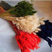 Материалы для творчества handmade. Livemaster - original item Lagurus grass  bunny tails grass. Handmade.