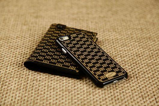 Для телефонов ручной работы. Ярмарка Мастеров - ручная работа. Купить Чехол-бампер для iPhone ручной работы № 010/Ячп(ч/б). Handmade.