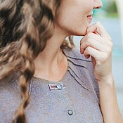 Одежда ручной работы. Ярмарка Мастеров - ручная работа Платье Цвет моря. Handmade.
