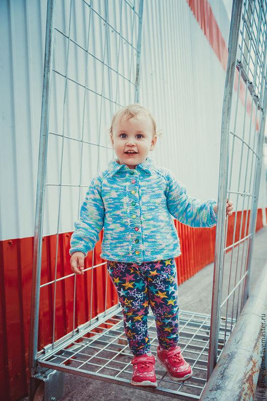 """Одежда для девочек, ручной работы. Ярмарка Мастеров - ручная работа. Купить Жакет детский """"Карамельки"""". Handmade. Комбинированный, кофта детская"""