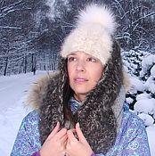Аксессуары handmade. Livemaster - original item Hat-helmet female winter