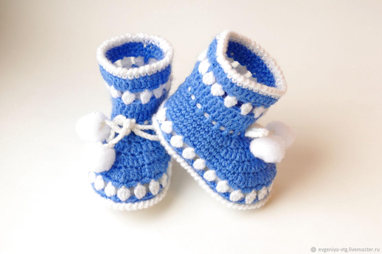 Пинетки: детские пинетки, носочки, Для новорожденных, Москва, Фото №1