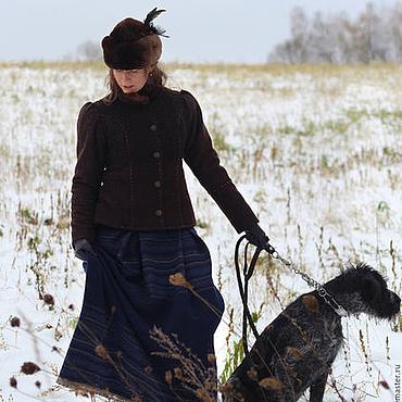 Одежда ручной работы. Ярмарка Мастеров - ручная работа Зимнее пальто Графиня. Handmade.