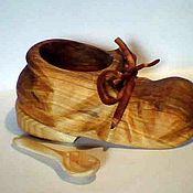 """Для дома и интерьера ручной работы. Ярмарка Мастеров - ручная работа солонка """"чей туфля"""". Handmade."""