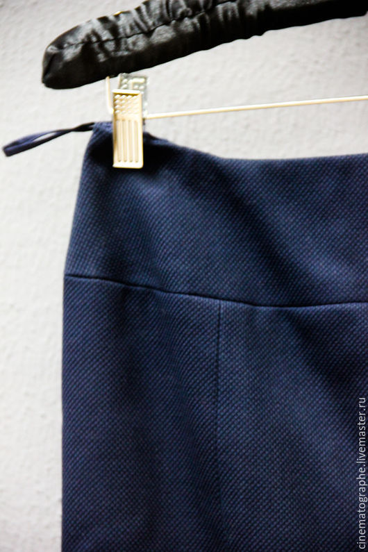 Одежда. Ярмарка Мастеров - ручная работа. Купить Юбка CHANEL Boutique оригинал. Handmade. Тёмно-синий, винтажная юбка