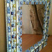 """Для дома и интерьера ручной работы. Ярмарка Мастеров - ручная работа Настенное зеркало """"Самоцветы"""". Handmade."""