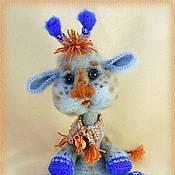 Куклы и игрушки handmade. Livemaster - original item Zhirafik Motya. Handmade.