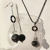 """Украшения handmade. Livemaster - original item Set of jewelry """" Urbanism"""". Handmade."""