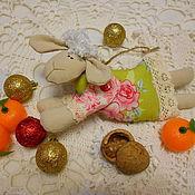 Куклы и игрушки ручной работы. Ярмарка Мастеров - ручная работа Овечка -символ года. Handmade.