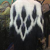 Одежда ручной работы. Ярмарка Мастеров - ручная работа Шуба Перо павлина. Handmade.