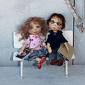 Куклы и игрушки ручной работы. Ярмарка Мастеров - ручная работа Братик и сестричка:). Handmade.