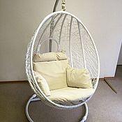 """Для дома и интерьера ручной работы. Ярмарка Мастеров - ручная работа Подушка для подвесного кресла """"Орех"""". Handmade."""