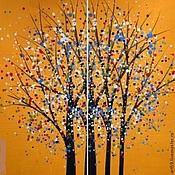 Картины и панно handmade. Livemaster - original item Tree-confetti. Handmade.