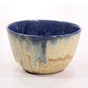 Посуда handmade. Livemaster - original item Bowl, vanilla blue. Handmade.