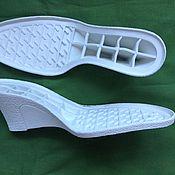 Материалы для творчества ручной работы. Ярмарка Мастеров - ручная работа Подошва для обуви. Подошва доя вязаной обуви. Handmade.