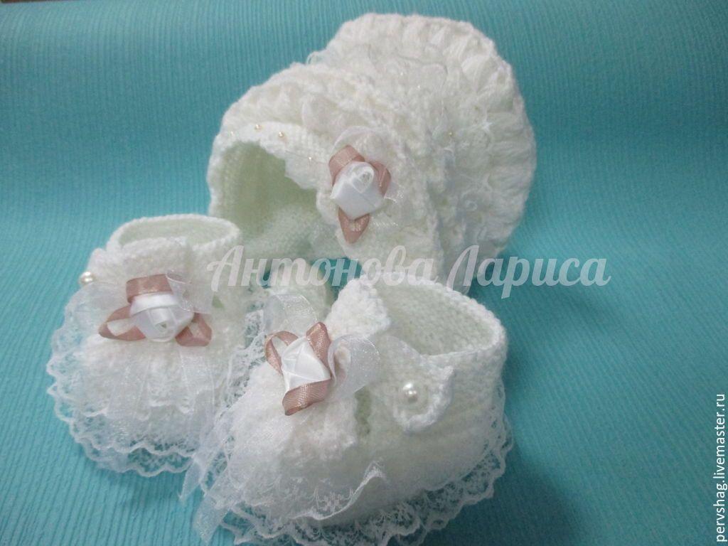 handmade. Livemaster - handmade. Buy air kit for девочки2.Handmade, suit for girls, baptismal, acrylic yarn
