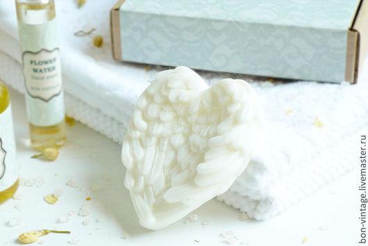 Мыло ручной работы. Ярмарка Мастеров - ручная работа. Купить Жасмин - глицериновое мыло. Handmade. Белый, цветочное мыло