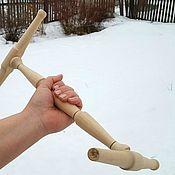 Инструменты ручной работы. Ярмарка Мастеров - ручная работа Нидди-нодди 1500 см. для блокировки пряжи в пасме. Handmade.