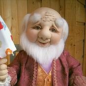Куклы и игрушки handmade. Livemaster - original item doll OLE LUKOYE (textile). Handmade.