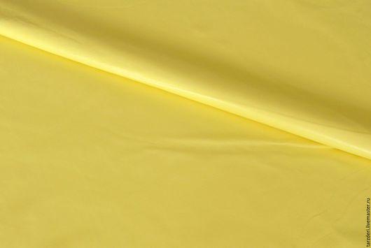 Шитье ручной работы. Ярмарка Мастеров - ручная работа. Купить Лимонная тонкая натуральная кожа 0,5 мм. Handmade.