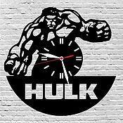 Для дома и интерьера ручной работы. Ярмарка Мастеров - ручная работа Часы настенные из акрилового стекла Hulk. Handmade.